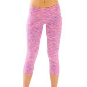 Luxletic Weekender Crop - Spacedye